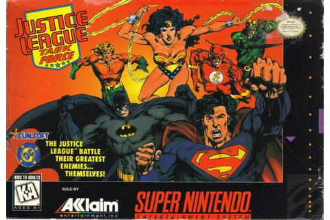 Justice League: Task Force (Video Game) - DC Comics Database