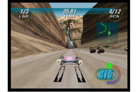 Star Wars Episode I Racer Nintendo 64 Game