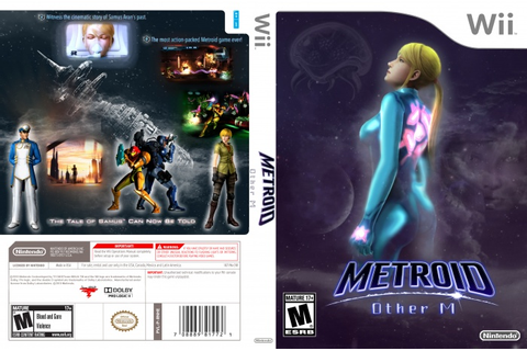 Metroid: Other M Wii Box Art Cover by Betakyte