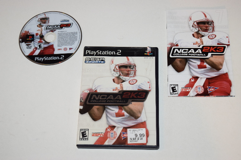 NCAA College Football 2K3 Playstation 2 PS2 Video Game ...