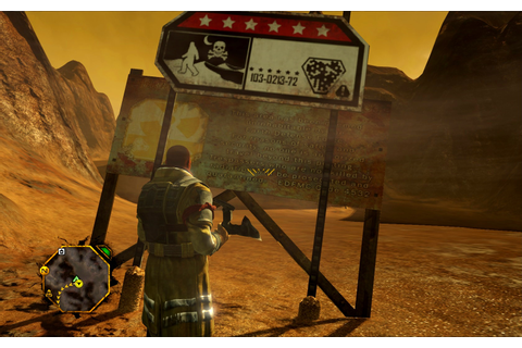 Mars game review - Red Faction: Guerrilla | human Mars