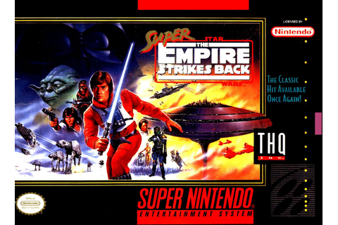 Super Star Wars Empire Strikes Back SNES Super Nintendo