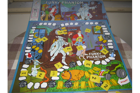 Board Game Review: It's Funky Phantom Time | Arotulon's Blog