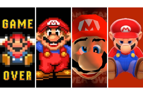 Evolution of Game Overs in Mario Games (1985-2019) - YouTube