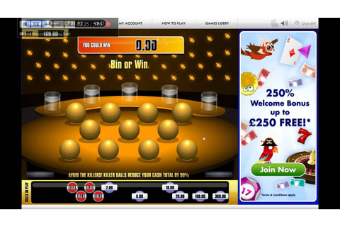 Golden Balls Online Instant Win Game On Jackpot Joy - YouTube