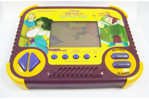 Tiger Electronic - Handheld Game - The Hunchback of Notre Dame
