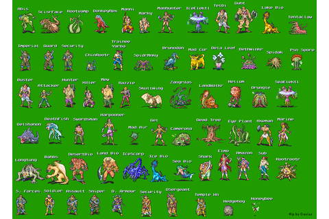 The Spriters Resource - Full Sheet View - Eternal Filena ...