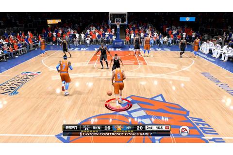 NBA Live 15 FULL GAME 1st Impressions - New York Knicks vs ...
