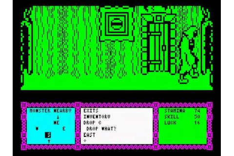 Heavy on the Magick Walkthrough, ZX Spectrum - YouTube