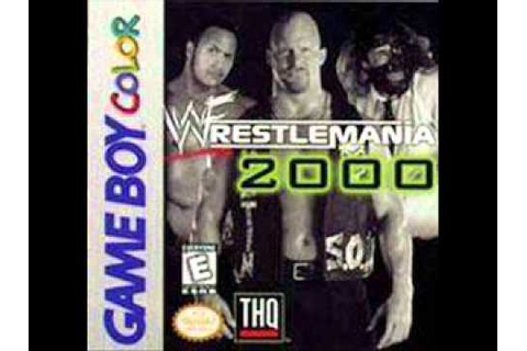 WWF Wrestlemania 2000 (GBC) Music - Match Music - YouTube