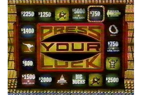 Press Your Luck (Series) - TV Tropes