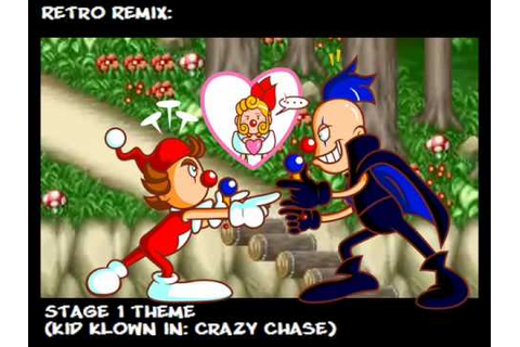 Retro Remix: Kid Klown in The Funky Forest (Crazy Chase ...