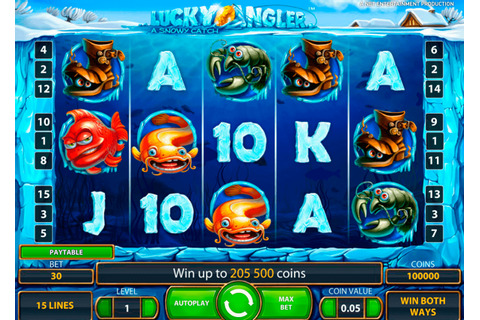 Lucky Angler Slot | Play Best NetEnt Slots for FREE