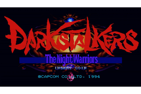 Darkstalkers : The Night Warriors (Arcade Game Intro ...