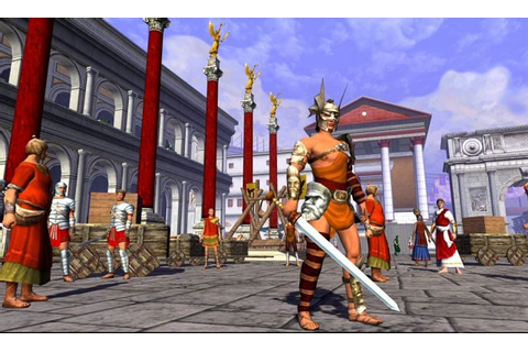 Gods and Heroes: Rome Rising : Online Games Review Directory