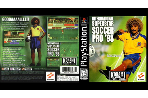 [PS1] International Superstar Soccer Pro 98 Gameplay ...