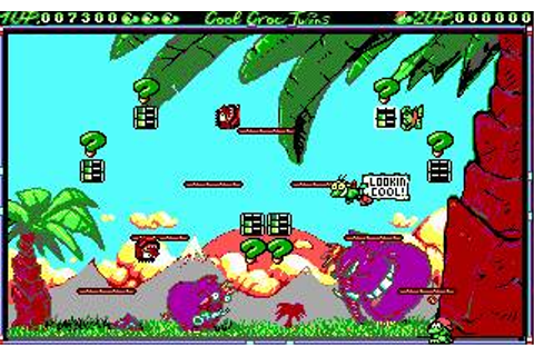 Cool Croc Twins Download (1992 Arcade action Game)