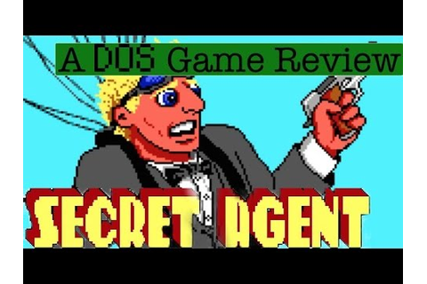 Secret Agent - A DOS Game Review - YouTube