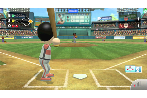 Wii Sports Club - Baseball: Online Game - YouTube