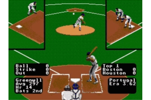Play RBI Baseball 3 Online - Play Sega Genesis / Mega ...