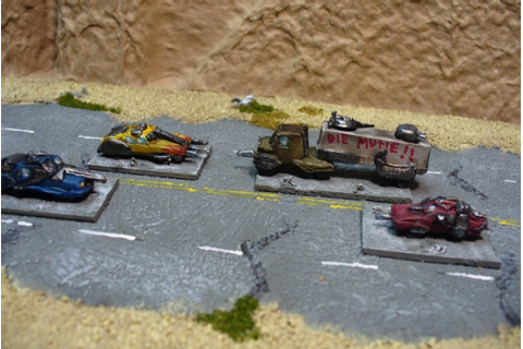 Car Wars miniatures - Cobcroftomicon