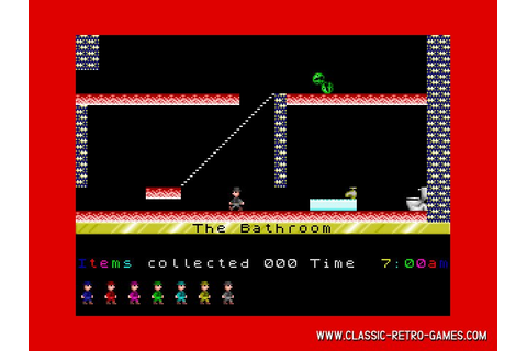 Download Jet Set Willy & Play Free | Classic Retro Games