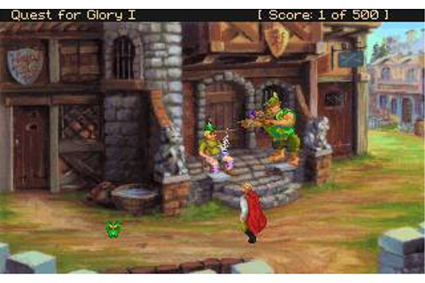 Quest for Glory 1: So You want to be a Hero (remake ...
