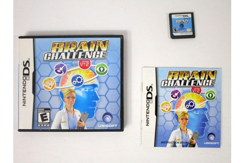 Brain Challenge game for Nintendo DS (Complete) | The Game Guy