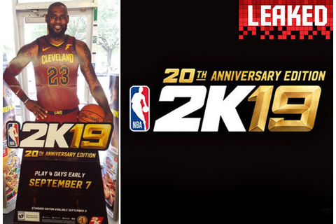 Lebron James NBA 2K19 Cover, Release Date LEAK reveals PS4 ...