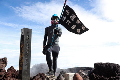 Hong Konger wearing protester gear climbs to summit of ...
