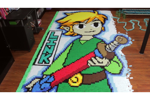 THE LEGEND OF ZELDA: THE WIND WAKER Is Depicted in 78,000 ...