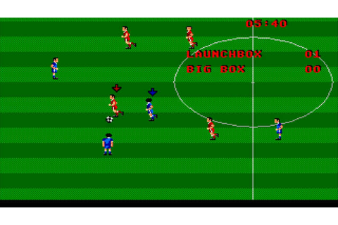 Kenny Dalglish Soccer Match Details - LaunchBox Games Database