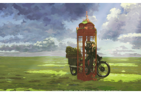 Kino's Journey - altered artwork wallpaper... - The art of ...