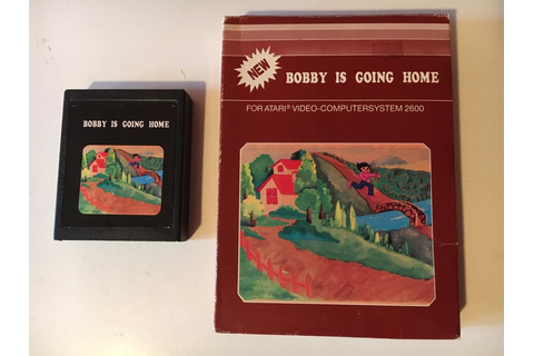 Atari 2600 VCS Bobby Is Going Home : scans, dump, download ...
