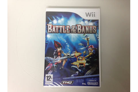 Nintendo Wii game: Battle of the Bands - Catawiki
