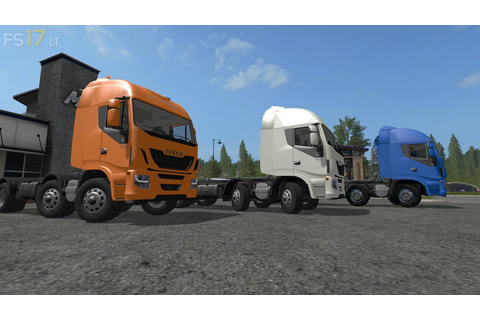 Iveco Hi Way HKL 8×8 v 1.0 Multicolor – FS17 mods