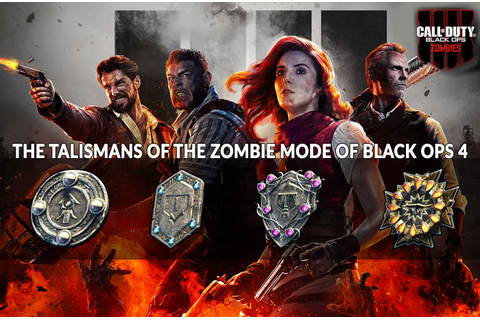 Guide Call of Duty Black Ops 4 how zombie talismans work ...