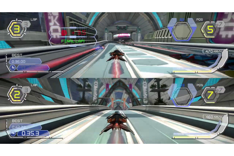 WIPEOUT™ OMEGA COLLECTION Split screen - YouTube