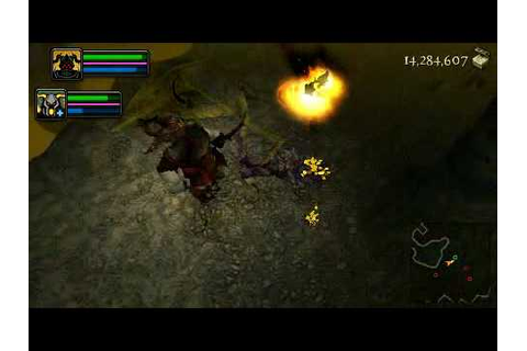 [PSP] Dungeon Siege: Throne of agony (gameplay) - YouTube