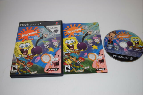 Nicktoons Movin' (Sony PlayStation 2, 2004) for sale ...