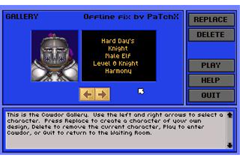 Ruins of Cawdor Download (1995 Role playing Game)
