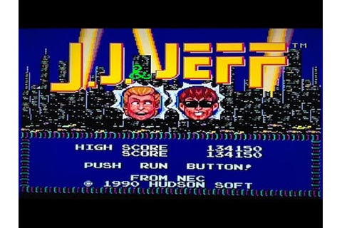 J.J. and Jeff (TurboGrafx 16) Without dying speed run ...