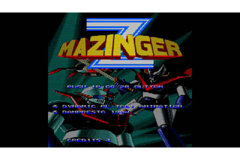 Mazinger Z Arcade FBA Gameplay - YouTube