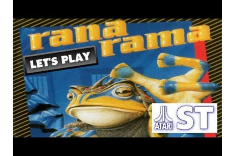 LET'S PLAY: RANARAMA (ATARI ST - With Commentary) - YouTube
