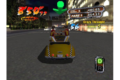 Crazy Taxi 3: High Roller Download (2004 Arcade action Game)