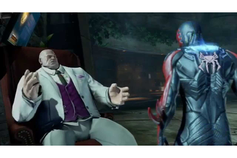 The Amazing Spider-Man 2 Video Game - Spider-Man 2099 Vs ...
