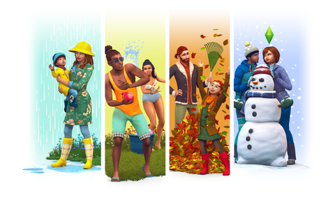 The Sims 4 Seasons: Official Logo, Box Art and Renders ...