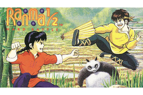 CGRundertow RANMA 1/2: HARD BATTLE for SNES / Super ...