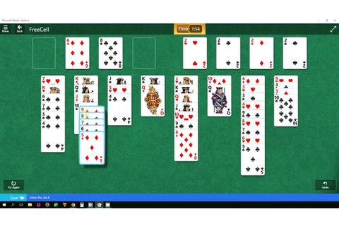 FreeCell - Easy I - level 3 - Star Club - Microsoft ...