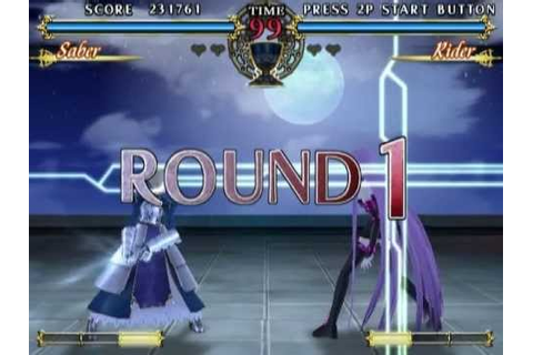 Fate/unlimited codes (PS2 Gameplay) - YouTube